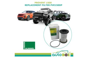 Provent 1500 Replacement Filter Element PVE150DP Mann Hummel LC7201 X 3931051870