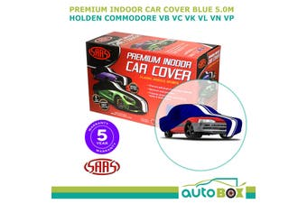 SAAS BLUE 5.0m SHOW CAR COVER INDOOR DUST Holden Commodore VB VC VK VL VN VP