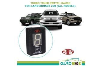 SAAS Turbo Timer Switch Panel Gauge Digital suits Toyota Landcruiser 200 Series