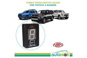SAAS Turbo Timer Switch Panel Gauge Digital suits Toyota 4 Runner 2010 onward
