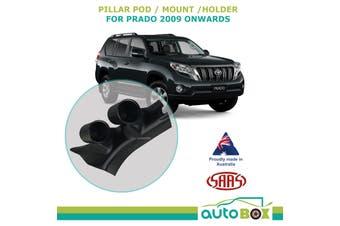 SAAS Pillar Pod suit Toyota Prado 150 Series 2009 onward Holder Mount 52mm Gauge