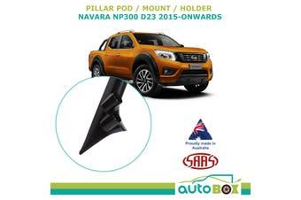 SAAS 2 Gauge Pillar Pod for Nissan Navara NP300 D23 2015-onwards