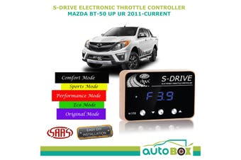 SAAS Electronic Throttle Controller for Mazda BT-50 UP UR 2011-Current S Drive