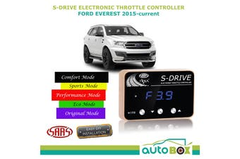 S Drive for Ford Everest 2015-Current SAAS Electronic Throttle Controller sDrive