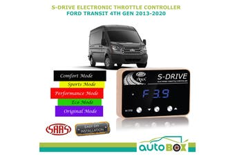 SAAS Electronic Throttle Controller for Ford Transit (4th Gen) 2013-2020 S Drive