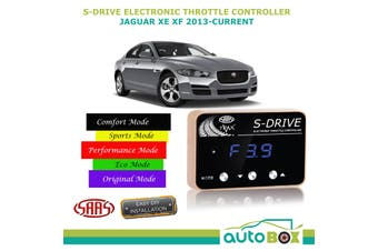 SAAS Electronic Throttle Controller for Jaguar XE XF 2013-Current S Drive Boost