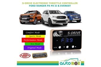 S Drive for Ford Ranger PX2 2011-2020 SAAS Electronic Throttle Controller sDrive