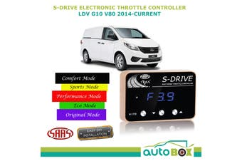 SAAS Electronic Throttle Controller for LDV G10 V80 2014-Current S Drive Boost