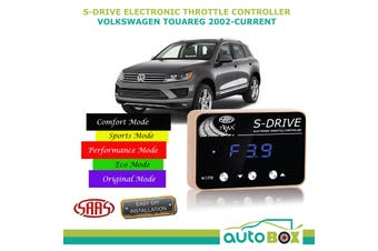 SAAS Electronic Throttle Controller for VW Touareg 2002-Current S Drive Boost