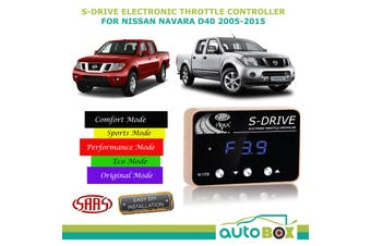 SAAS S-Drive Throttle Controller for Nissan Navara D40 2005-2015 5 Stage