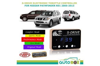 SAAS S-Drive Throttle Controller for Nissan Pathfinder R51 2005-2013 5 Stage