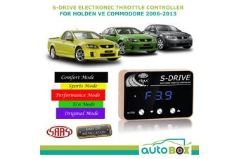 SAAS S-DRIVE THROTTLE CONTROLLER FOR Holden VE Commodore All Models 5 STAGE