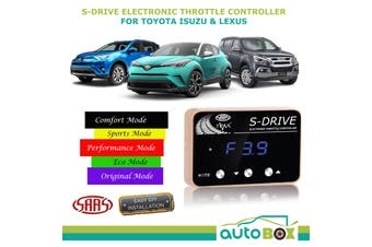SAAS S Drive Electronic Throttle Controller for Toyota Camry C-HR  Corolla