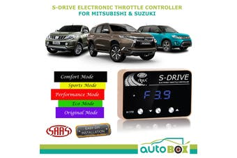 SAAS S Drive Electronic Throttle Controller suits Triton MQ Pajero Sport