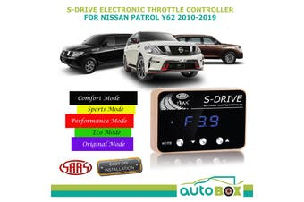 SAAS S-Drive Electronic Throttle Controller for Nissan Y62 2010-19 5 Stage