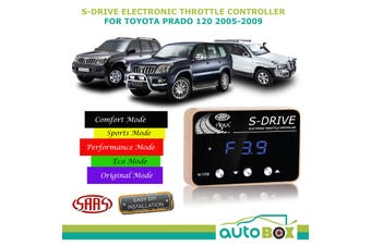 SAAS S-Drive Throttle Controller for Toyota Prado 120 All Models 2005-09 5 Stage