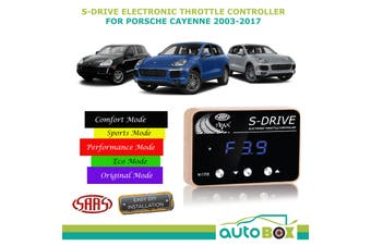 SAAS S Drive for Porsche Cayenne 2003-2017 Electronic Throttle Controller