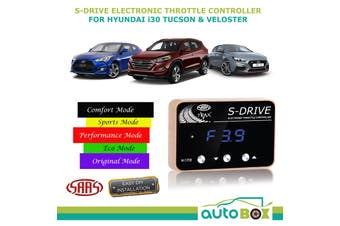 SAAS S Drive for Hyundai i30 Tucson Veloster Electronic Throttle Controller
