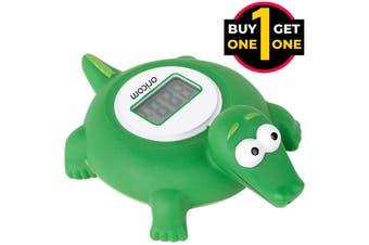 Black Friday Oricom Crocodile LCD Floating Bath & Room Temperature Alert 2 For 1