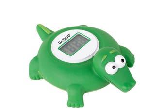 Oricom Crocodile LCD Floating Bath & Room Temperature Alert