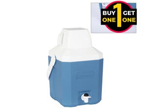 Black Friday Coleman 5.5L Portable Insulated Drinks Jug 2 For 1