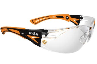 Bolle Safety Rush Plus Platinum Clean Lens Glasses