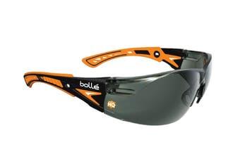 Bolle Safety Rush Plus Platinum Smoke Lens Glasses