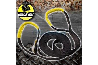 Black Rat Snatch Strap 12000Kg 9M x 75mm