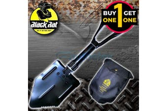 Black Friday Black Rat Folding Shovel & Pick Tool 2 For 1