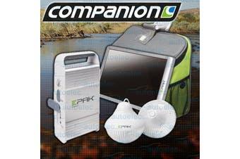 Companion Epak Portable Solar Panel Power USB Charger