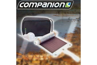 Companion Portable Solar Panel Power USB Charger Camping Tent Light 522367