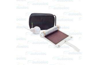Companion Epak Portable Solar Panel Camping Book Tent Light & USB Light 522367