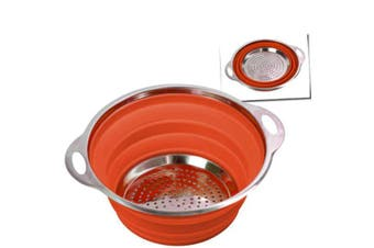 Companion Collapsible Camping Colander Orange