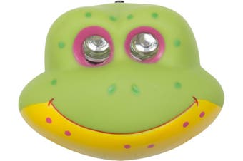 Kids Camping LED Head Torch Frog