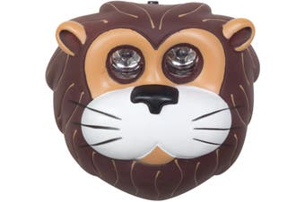 Kids Camping LED Head Torch Lion