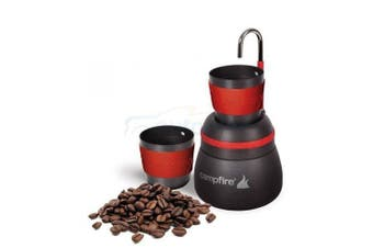 Portable Coffee Maker 2 Cup Brew Aluminium 350ML