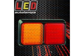 1 X Genuine Led Brand Truck Trailer Combo Tail Light Lamp 12 Volt 80Barm