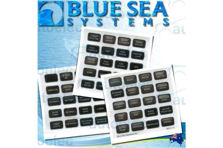 Blue Sea 60 Piece Label Set