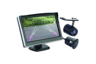 Command 5 Inch Dash Mount LCD Colour Monitor & Reverse Camera