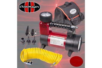 Aunger 150PSI 12V Heavy Duty Air Compressor with LED Light