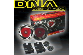 DNA 6 Inch 2 Way Car Audio Stereo Speakers Set