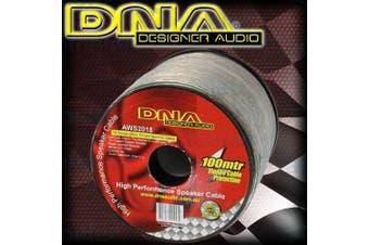 DNA 100M 18 Guage Car Audio Speaker Wire