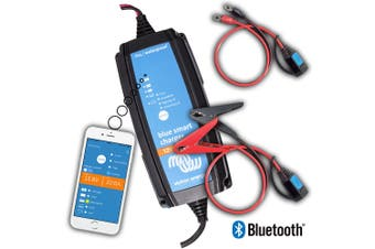 Victron Blue Smart 7 Amp 12 Volt Battery Charger Bluetooth App Control