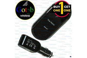 Black Friday Got2B Bt1900 Handsfree Visor Mount Speaker Car Kit For Phone Bluetooth Usb New 2 For 1