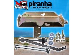 Piranha Dual Battery Tray for Isuzu Dmax D-Max Turbo Diesel 2nd Gen 2012+