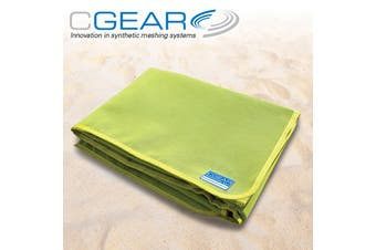CGear Quicksand Lime Green Waterproof Camp Mat 1M x 2M