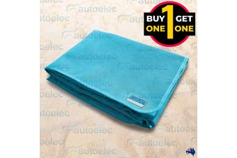 Black Friday CGear Quicksand Turquoise Waterproof Camp Mat 1M x 2M 2 For 1