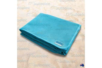 CGear Quicksand Turquoise Waterproof Camp Mat 1M x 2M