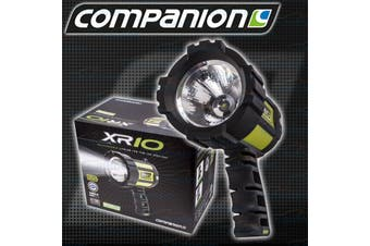 Companion Rechargable Lithium & 12V LED Handheld Spotlight