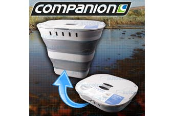 Companion Collapsible Laundry Hamper with Lid